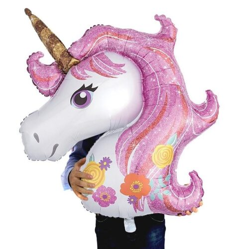 huge unicorn pink